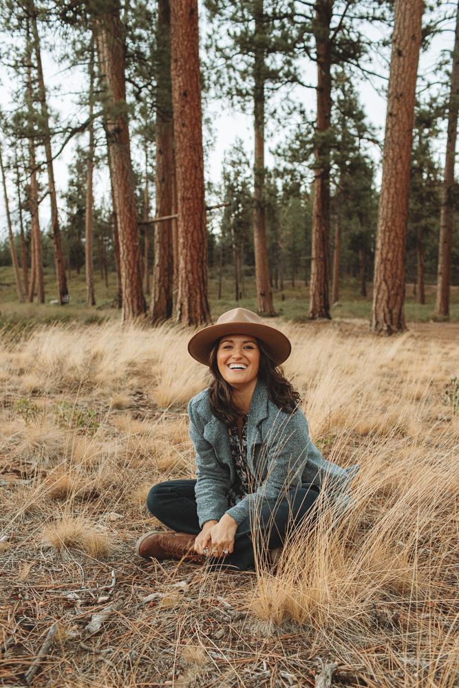 Gigi Pip Monroe Rancher Brown