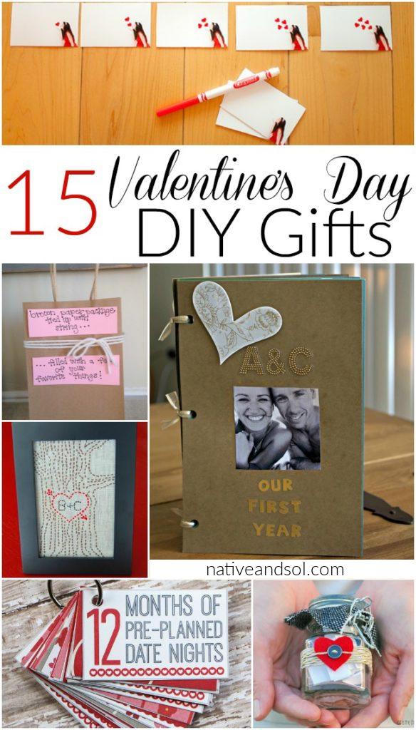 15 DIY valentine's day gifts